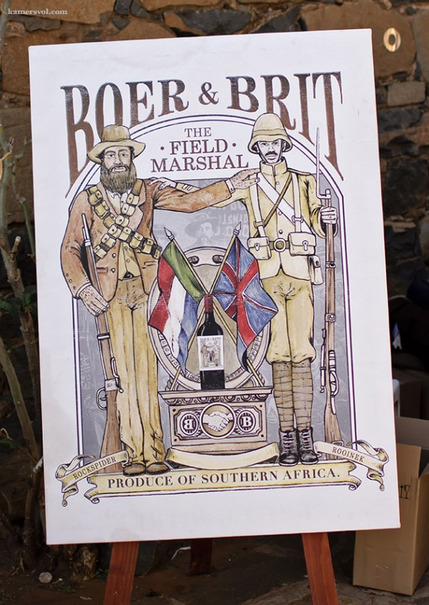 Boer and Brit at KAMERS