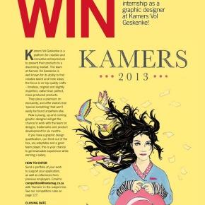 WIN! A R30 000 Graphic Design Internship atKAMERS
