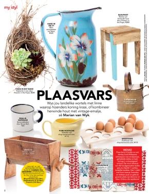 Plaasvars KAMERS produkte in Rapport MyTyd &VISI