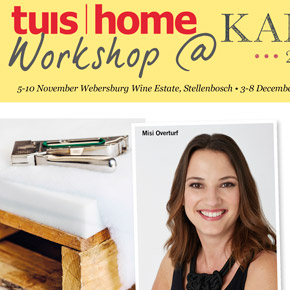 TUIS | HOME Workshops with Misi Overturf at KAMERS