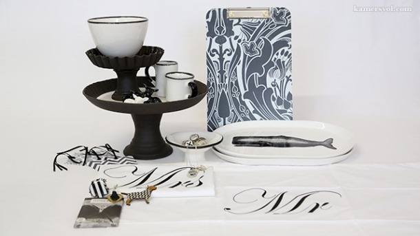 Beautiful new black and white products at KAMERS 2013. Photo: Charl du Preez