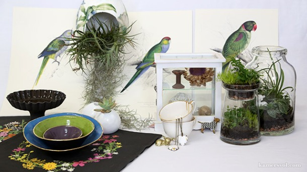 Beautiful new black and green products at KAMERS 2013. Photo: Charl du Preez