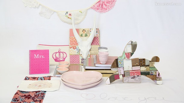 Beautiful new pink products at KAMERS 2013. Photo: Charl du Preez