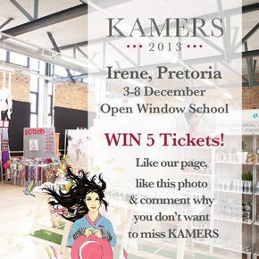 WIN! Tickets to KAMERS 2013Irene