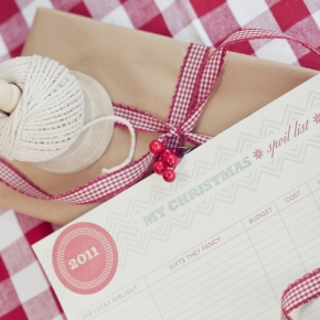 3 Easy Christmas DIYs from The PrettyBlog