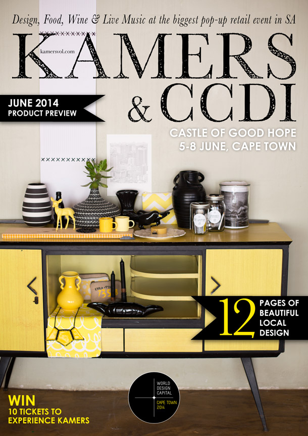 KAMERS & CCDI: Trading at the Castle, 5-8 June 2014 Product Preview catalogue cover by Charl du Preez