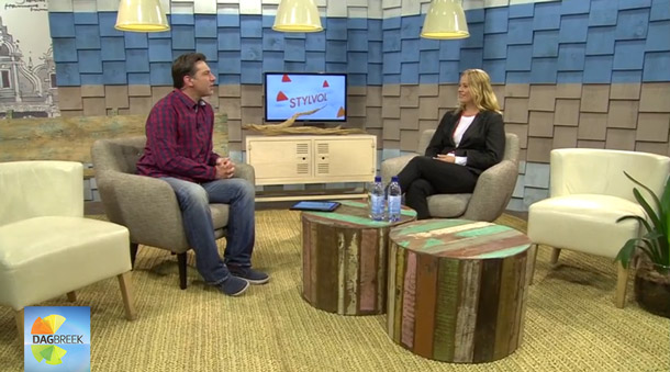 KykNET Dagbreek KAMERS Easter in Joburg interview with Magdel Kemp
