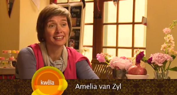 Amelia van Zyl op kykNET Kwêla vie KAMERS vol geskenke
