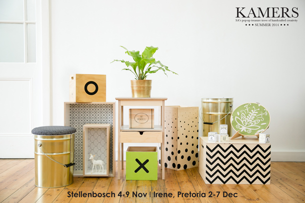 KAMERS Summer 2014 Products - Wooden Decor Boxes - Photo by Claudia De Nobrega, Styling by Anneke Roux, AnnaH