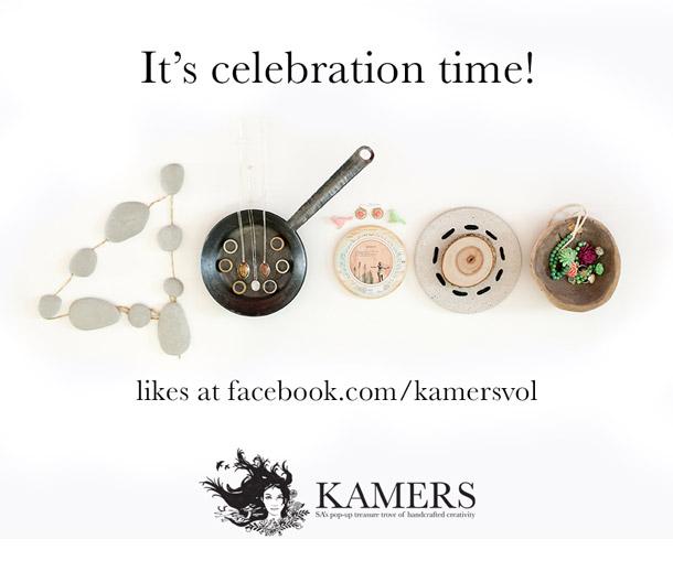 KAMERS has 40 000 likes on Facebook.com/kamersvol!