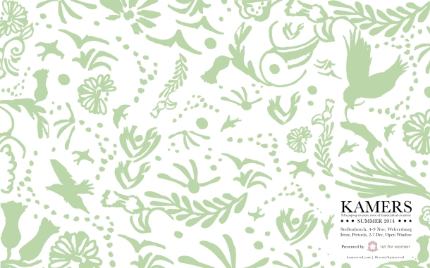 KAMERS Summer2014 wallpaper in fresh green - www.kamersvol.com