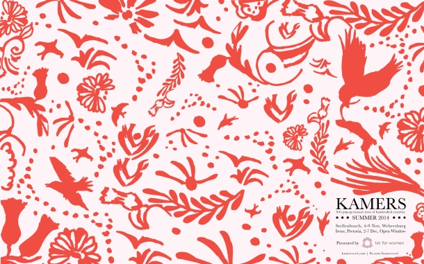 KAMERS Summer2014 wallpaper in coral - www.kamersvol.com