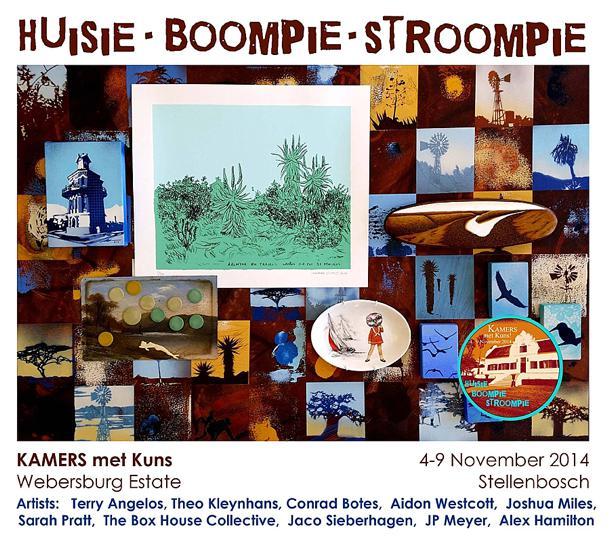 KAMERS met Kuns - Huisie Boompie Stroompie at KAMERS 2014 Stellenbosch - www.kamersvol.com