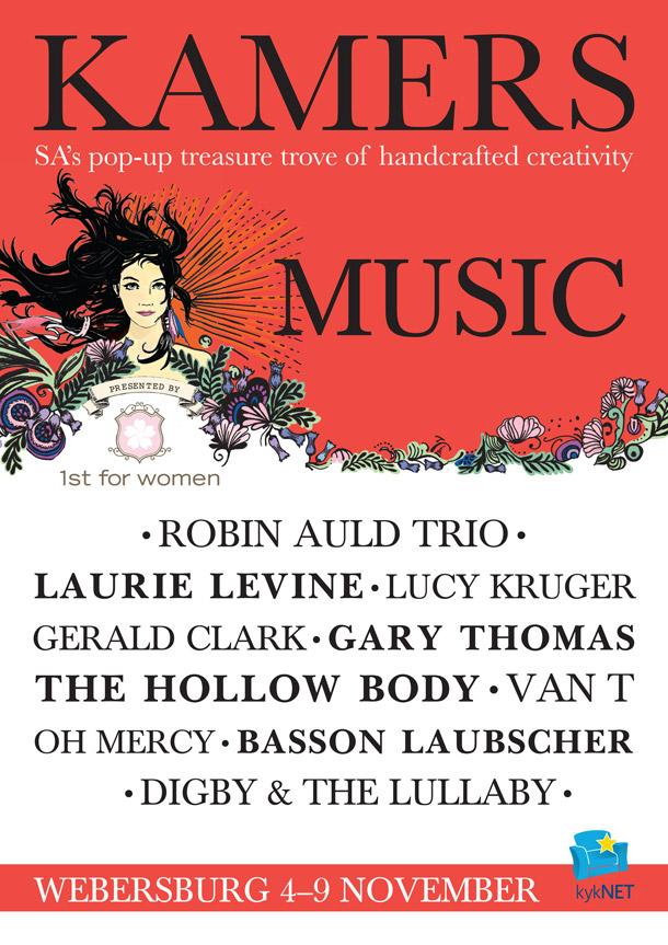 KAMERS 2014 Stellenbosch Live Music Line-up