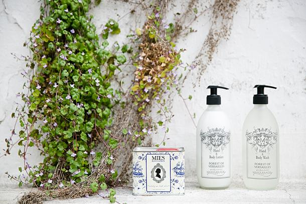 Mies bath oil and Masquerade hand wash and body lotion on KAMERS blog - www.kamersvol.com