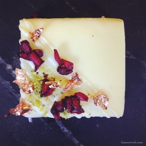 DIY: White Chocolate Fudge Gifts by Ma Mère