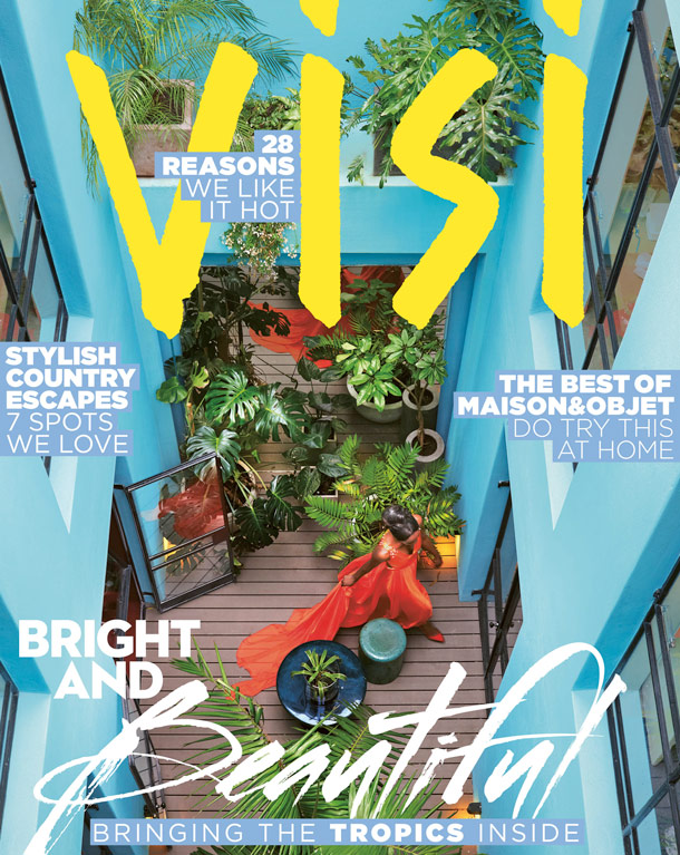 KAMERS Summer 2014 featured in VISI magazine - www.kamersvol.com