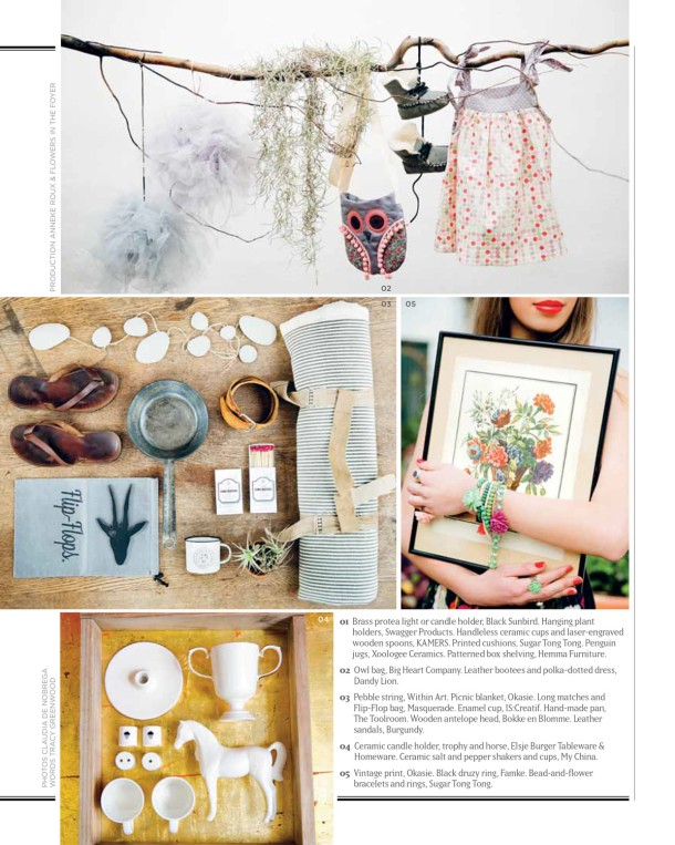 KAMERS Summer 2014 featured in VISI magazine - www.kamersvol.com - Photos by Claudia De Nobrega and Anneke Roux