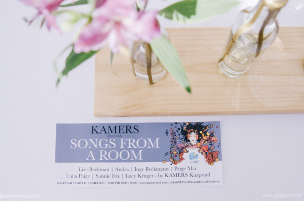KAMERS 2015 Cape Town, 7-10 May - www.kamersvol.com - Photo Carla Correia - www.carlalikesphotos.com